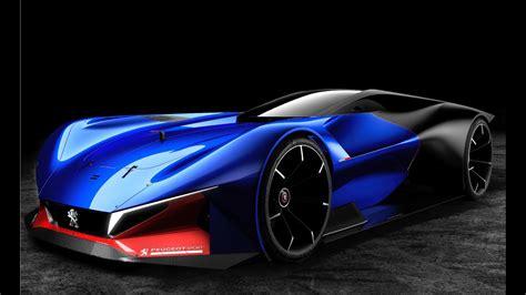 peugeot l500 r hybrid concept peugeot sports car youtube