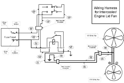 spal fan wiring diagram wiring diagram with description