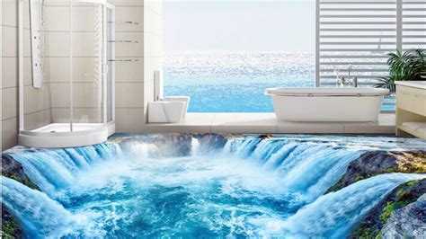 bathroom floor designs 3d bathroom floor designs that will mess with your mind