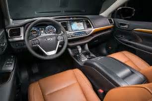 Toyota Highlander Interior Photos 2017 Toyota Highlander Hybrid Limited Platinum Interior 02