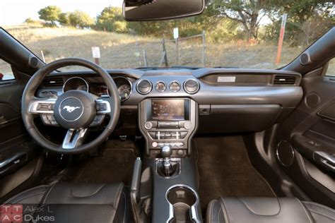 2015 mustang 5 0 interior 2015 ford mustang gt review no longer a one trick pony
