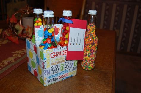 secret pal ideas bottles filled with for secret pal gift ideas