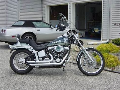Motorcycle Dealers Vineland Nj by 1998 Harley Davidson 174 Fxstc Softail 174 Custom Tri Tone Blue