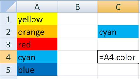 excel cell color formula excel setting the color of a cell to another stack overflow