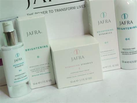 Produk Jafra Brightening currently testing jafra brightening range