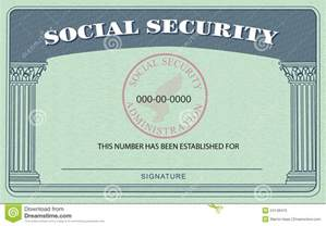Editable Social Security Card Template Fake Social Security Card Template Best Business Template