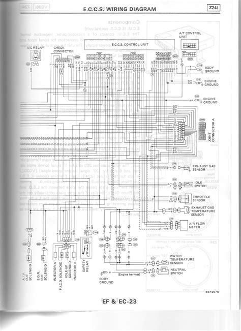 1989 nissan d21 wiring diagram 1989 isuzu trooper wiring