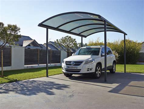 carport überdachung alu abri et carport en aluminium pour voiture cing car