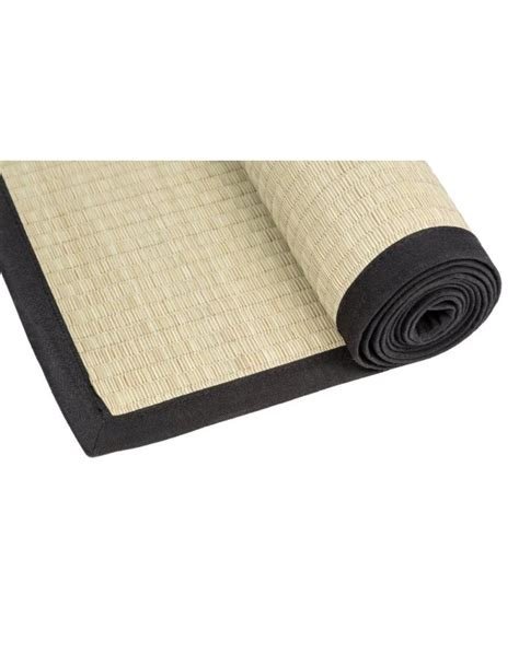 Japanese Mats by Traditional Japanese Goza Mat For 90 X 200 Cm Black