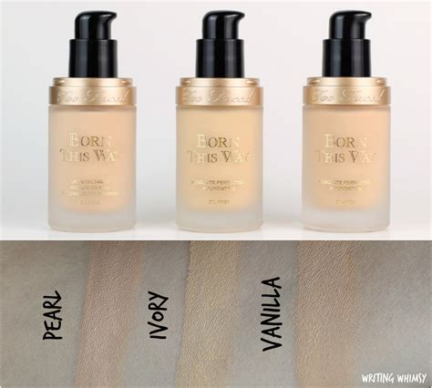 too faced pearl born this way foundation too faced born this way foundation in pearl ivory and