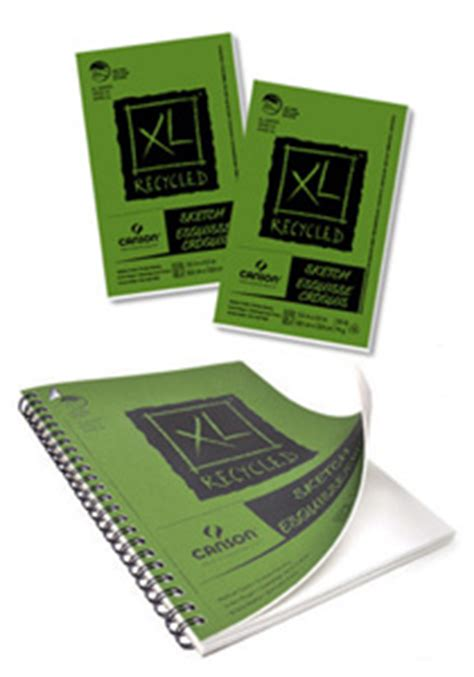 sketchbook canson xl canson xl recycled sketch pads
