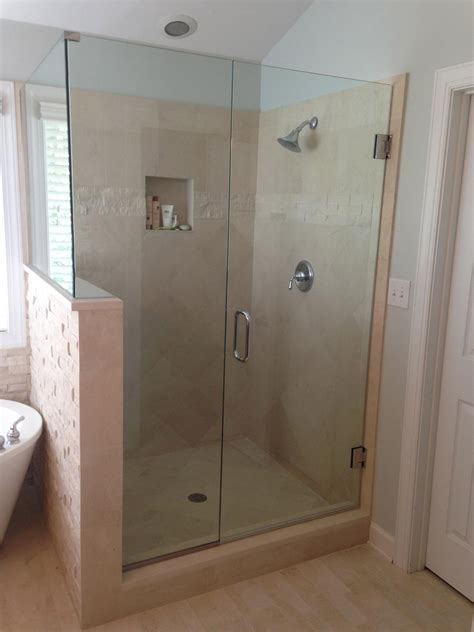 Shower Door Panel Frameless Shower Doors Raleigh Nc Glass Shower