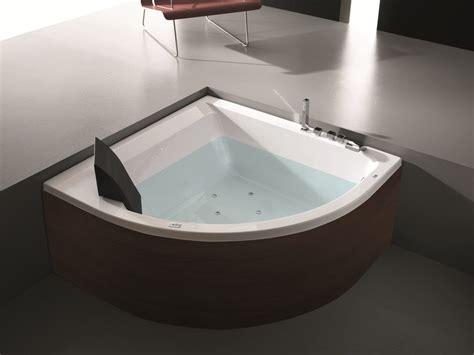 master vasca vasca da bagno angolare idromassaggio in legno era plus