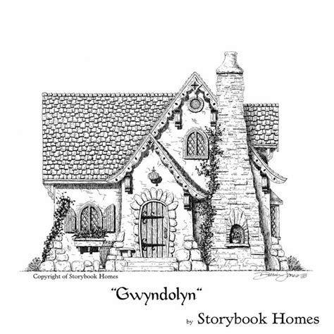 storybook homes floor plans storybook house plans tiny storybook house plans