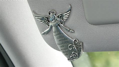 Ship Steering Wheel Decor Angel Car Visor Clips Ganz Angel Auto Decoration