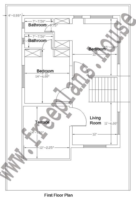 1600 sf to sm 32 215 50 feet 148 square meters house plan
