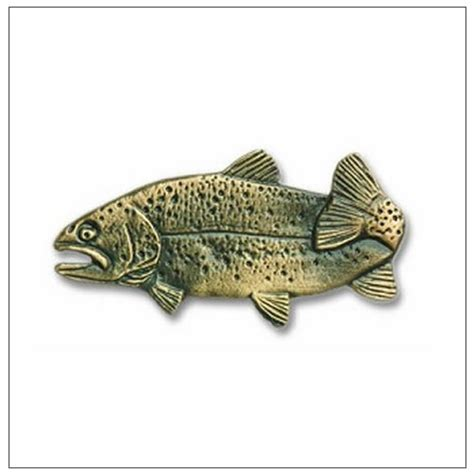 Fish Drawer Pulls by Buck Snort Lodge Fish Cabinet Hardware