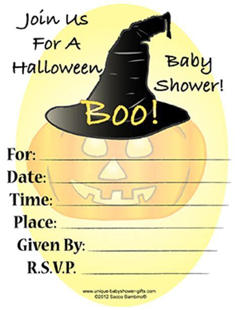 free printable halloween baby shower invitations free printable halloween baby shower invites
