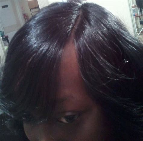 invisible part photoa pin invisible part weave sabrina the hairstylist on pinterest