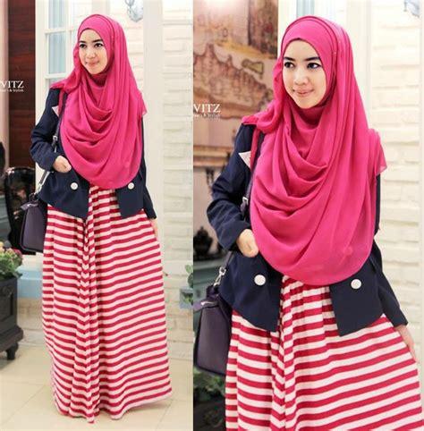 Muslim Syari 2016 Trend Fashion Baju Muslim Dewasa 2016 Terbaru Istimewa