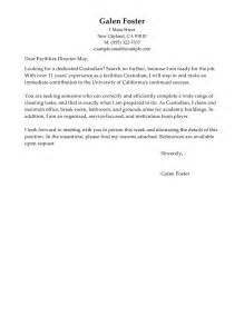 cleaning professionals cover letter examples maintenance