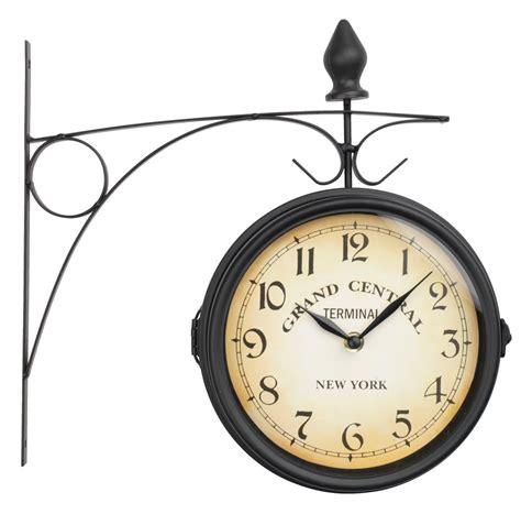 Bed And Bath Shower Curtain railway station clock runar d21cm black jysk