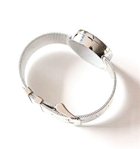rhinestone floating locket band bracelet c bellechic