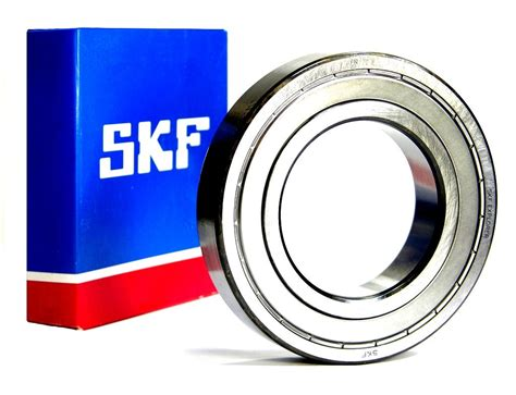 Bearing Skf 6200 Zz Skf Radial Bearing With Shields Intech