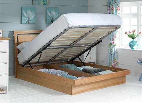 how to make an ottoman frame isabella ottoman bed frame oak dreams