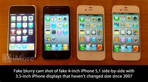 Hp Iphone 4 Inch the 4 inch iphone imore