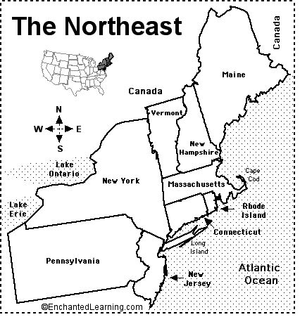 northeast us map quiz northeastern us states and capitals proprofs quiz
