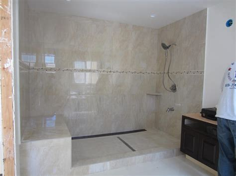 Large Glass Shower Large Shower Enclosure Patriot Glass And Mirror San