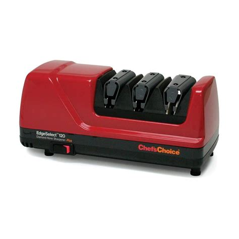 knife sharpener reviews shop chef schoice electric knife sharpener at lowes