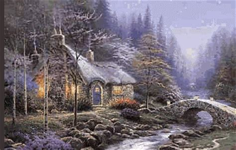 beautiful cottage wood   world  pictures