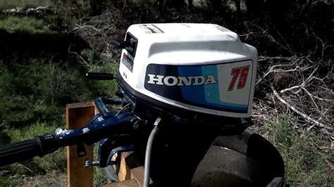 bfl honda hp outboard  service youtube