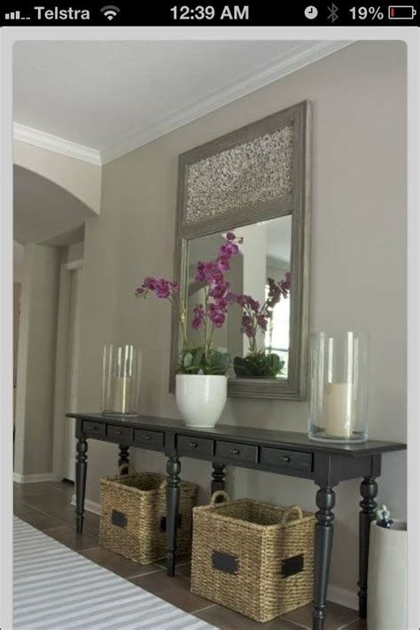 Ideas For Console Table With Baskets Design Simple Console Table Decors Home Decor Entry Ways Fireplaces And Baskets For