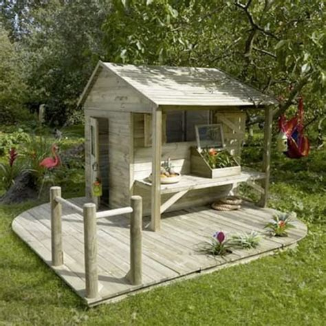 playhouses for backyard outdoor playhouses mommo design