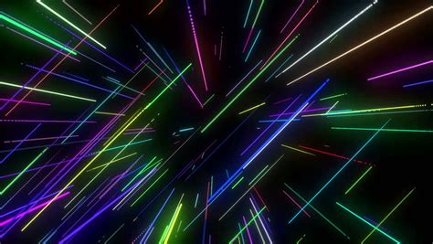 animation  colorful neon disco stock footage video