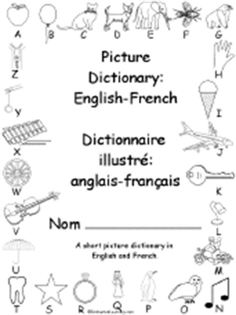 French/English Beginning Readers Books: EnchantedLearning.com