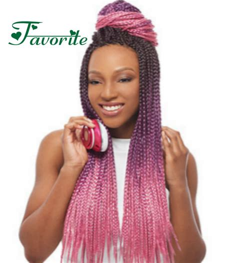 box braids with kanekalon hair 3 tone ombre kanekalon jumbo braiding hair colors black