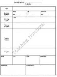 science lesson plan template high school 1000 images about classroom on high school