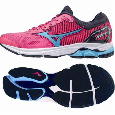 mizuno wave rider  ladies running shoes sweatbandcom