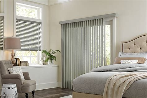 modern bedroom blinds gray vertical vinyl blinds graber bedroom ideas modern