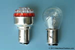 6 Volt Led Light Bulbs 6v Bright Led Stop And Light Matchless Clueless