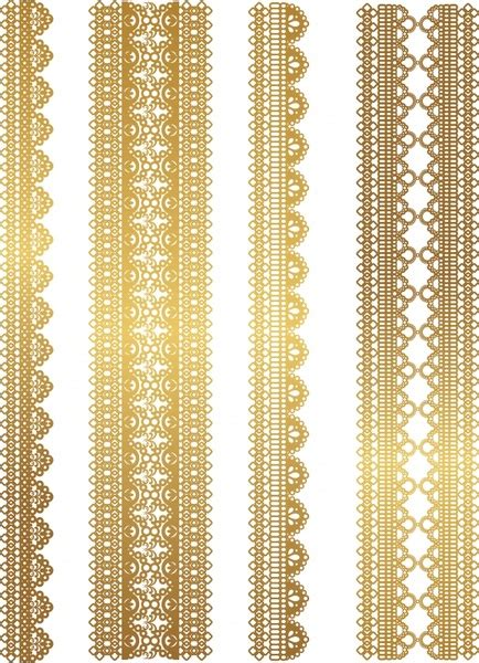 gold pattern eps gold lace pattern vector free vector in encapsulated