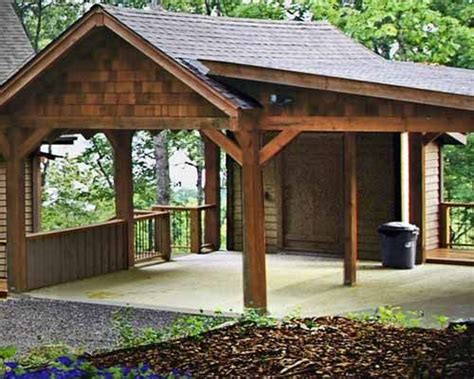 Wooden Car Port by 25 Best Ideas About Carport Designs On