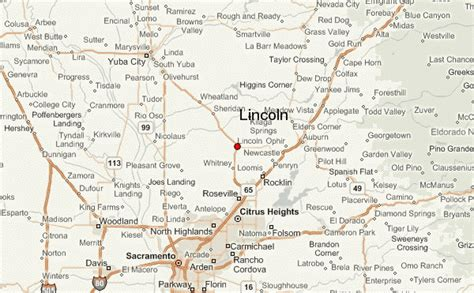 lincoln california location guide