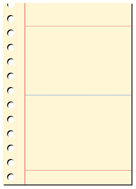 pad paper template blank notepad cliparts co