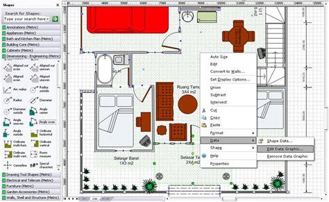 membuat layout ruangan dengan visio tentang berbagi desain pengembangan rumah dengan visio 2007