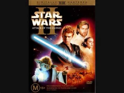 star wars attack of 0751337455 end credits music from the movie quot star wars episode ii attack of the clones quot youtube